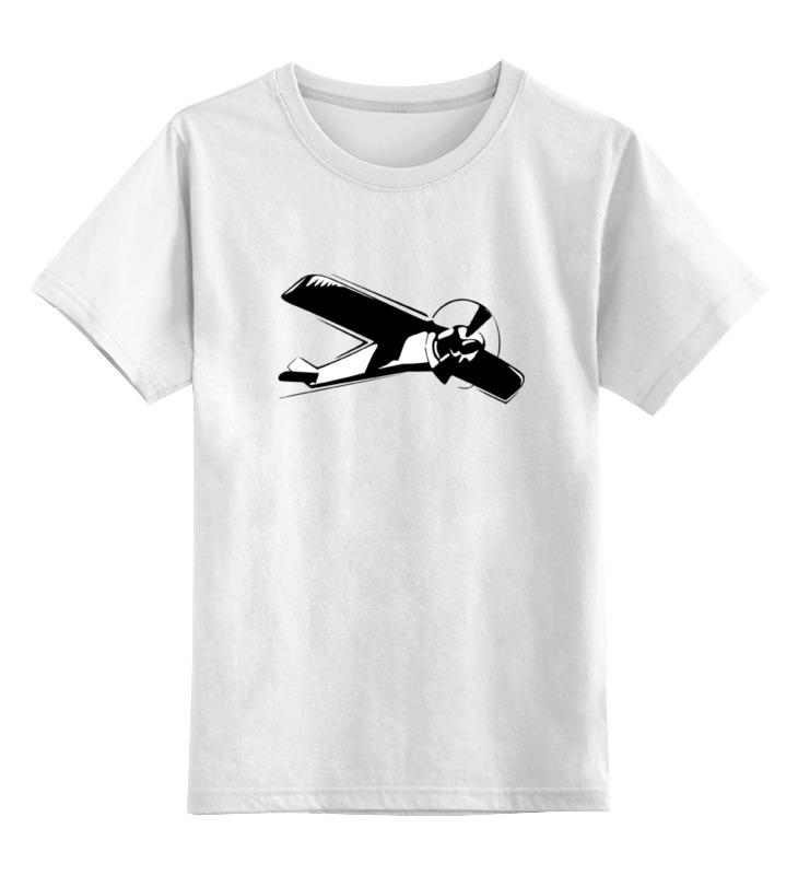 Детская футболка классическая унисекс Printio Самолет бюсси м самолет без нее