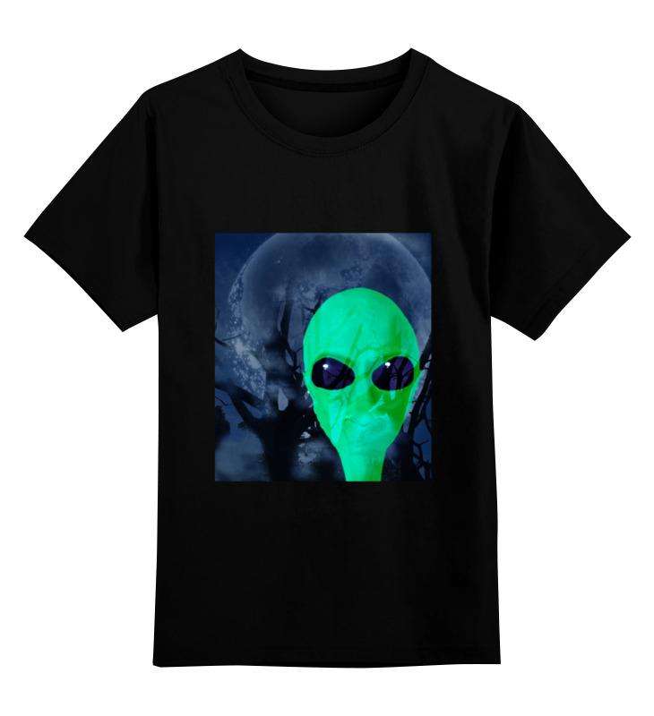 Детская футболка классическая унисекс Printio Деревья. луна. инопланетянин ф а мишо деревья америки