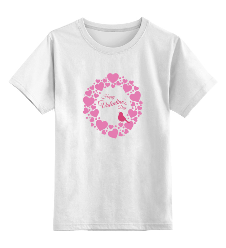 Детская футболка классическая унисекс Printio Valentine t-shirt 2 футболка классическая printio 62 2% в саратове