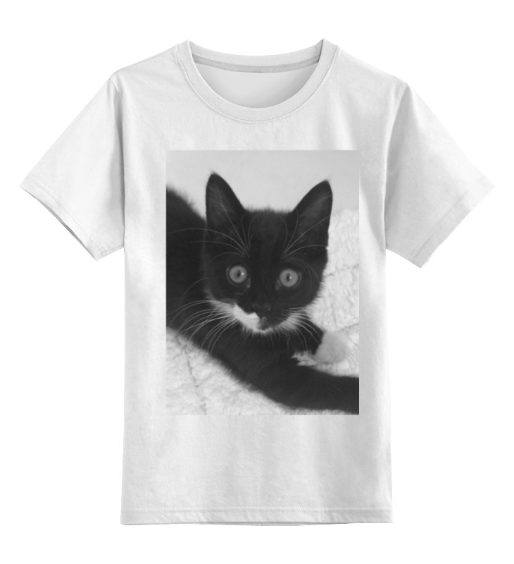 Детская футболка классическая унисекс Printio Котики детская футболка классическая унисекс printio зайчонок