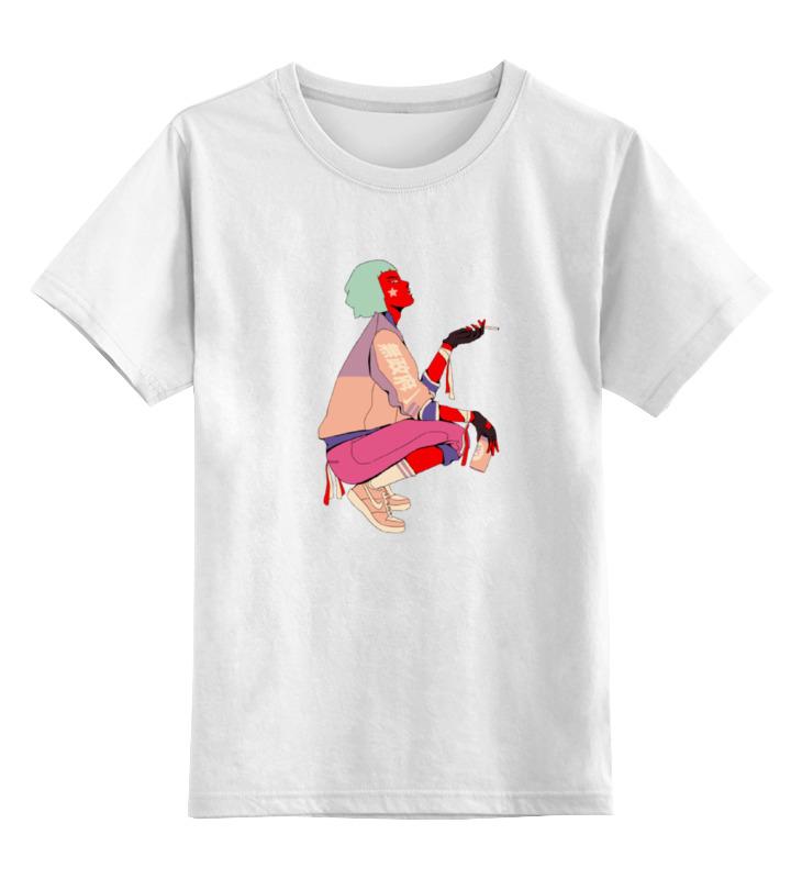 Детская футболка классическая унисекс Printio Китайская девушка