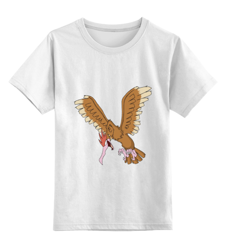 Детская футболка классическая унисекс Printio Pokemon fearow цена и фото