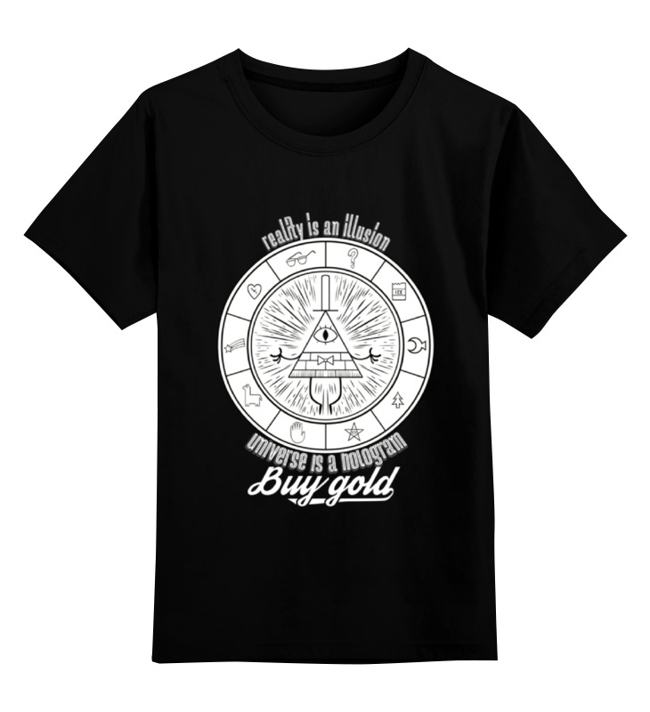 Детская футболка классическая унисекс Printio Bill cipher детская футболка классическая унисекс printio bill cipher