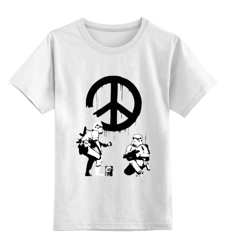 Детская футболка классическая унисекс Printio Звездные воины футболка классическая printio воины