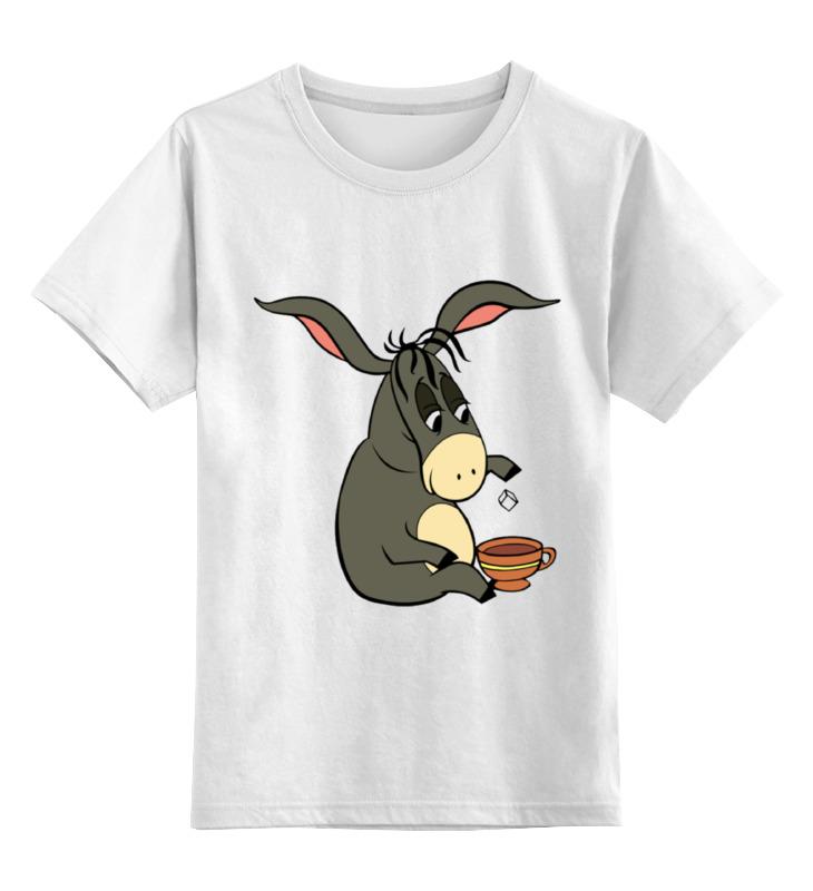 Детская футболка классическая унисекс Printio Ослик иа-иа отсутствует мудрый ослик притчи для детей
