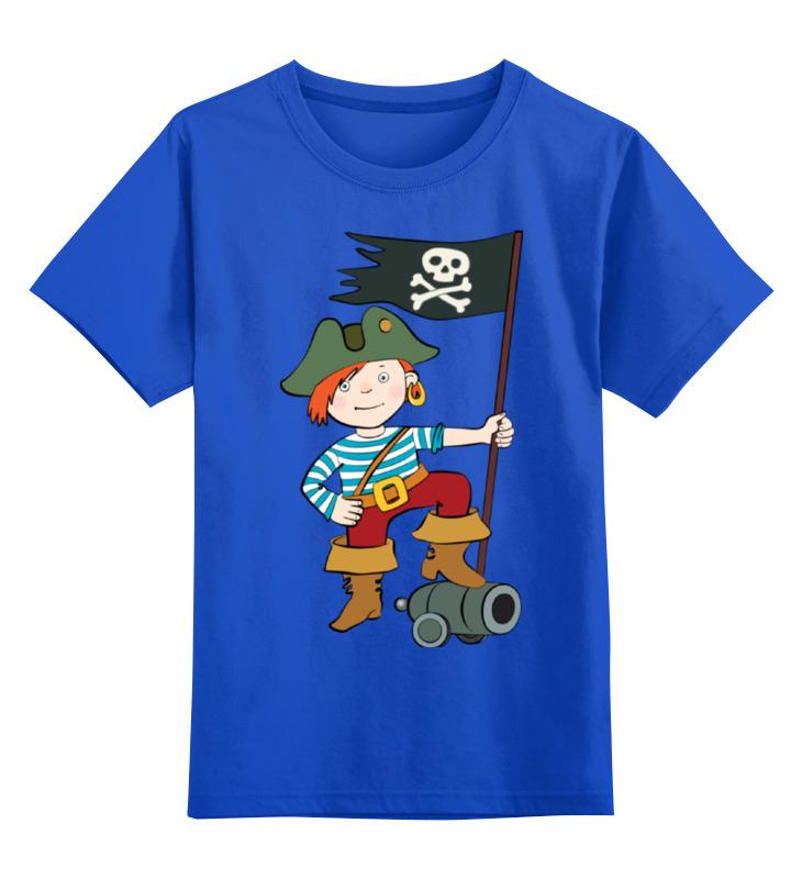 Детская футболка классическая унисекс Printio Пират цена и фото