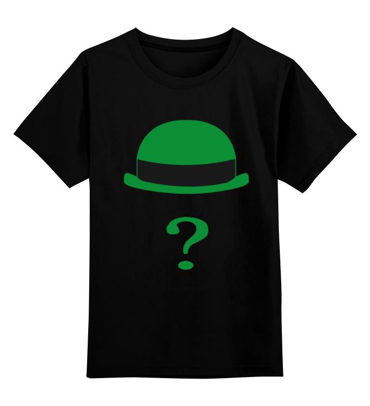 Детская футболка классическая унисекс Printio Загадочник (the riddler) детская футболка классическая унисекс printio the undertaker