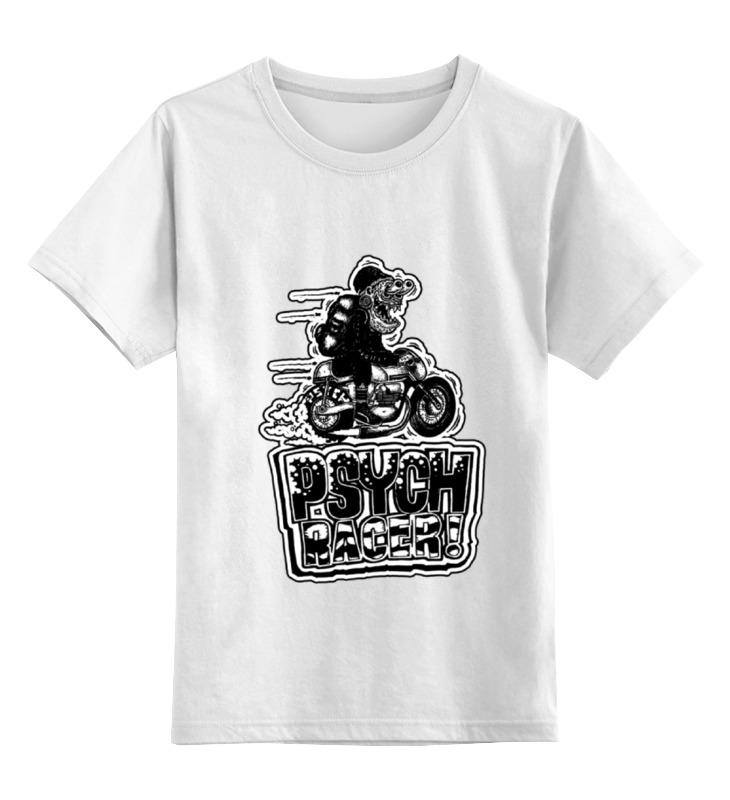 Детская футболка классическая унисекс Printio Fink racer