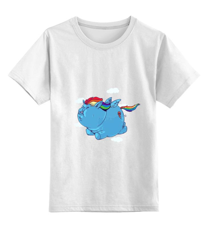 Printio Fat pony детская футболка классическая унисекс printio fat venom