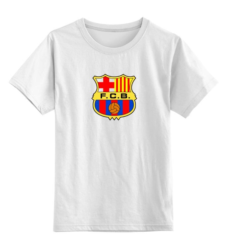 Детская футболка классическая унисекс Printio Futbol club barcelona tryp barcelona condal mar hotel 4 барселона