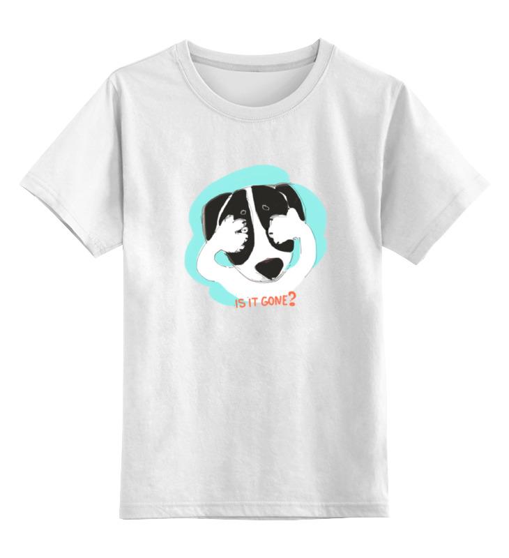 Детская футболка классическая унисекс Printio Is it gone детская футболка классическая унисекс printio йоркширский терьер