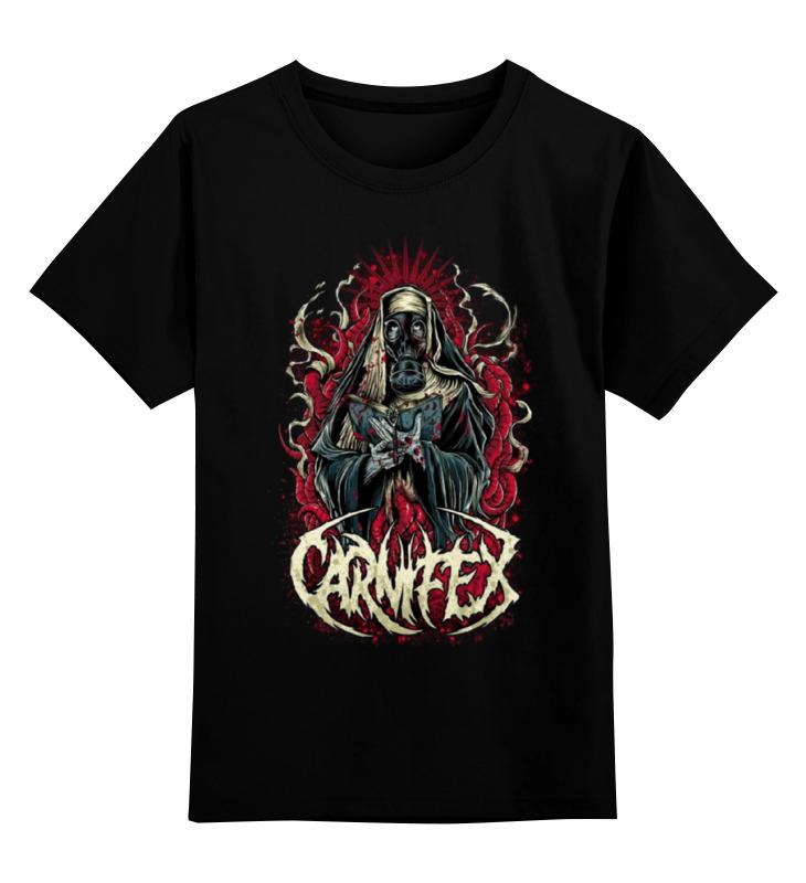 Детская футболка классическая унисекс Printio Carnifex band