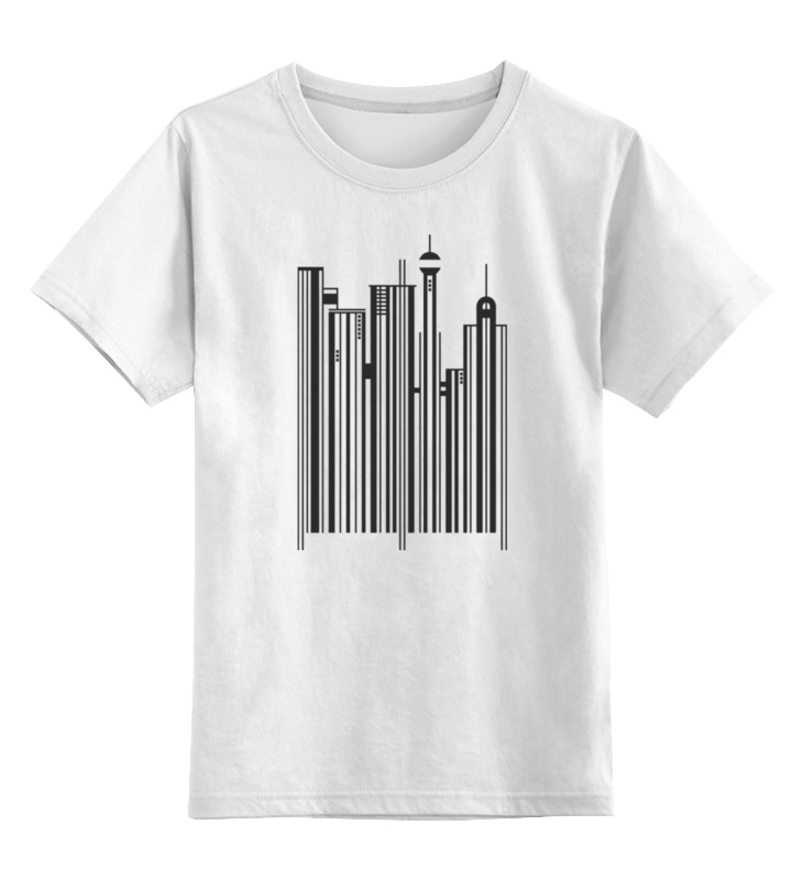 Детская футболка классическая унисекс Printio Сити-код детская сити