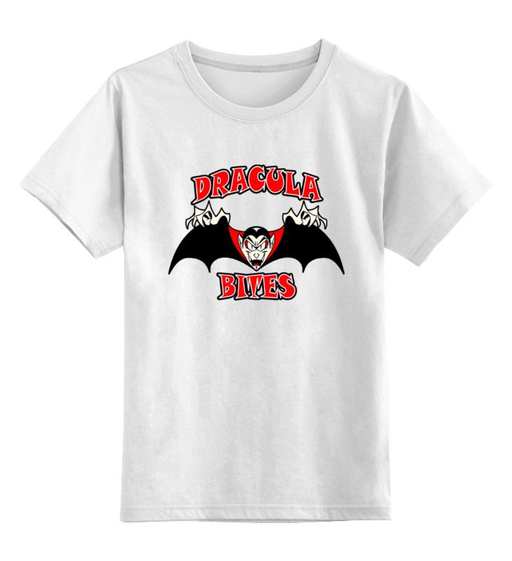 Детская футболка классическая унисекс Printio Дракула детская футболка классическая унисекс printio дракула