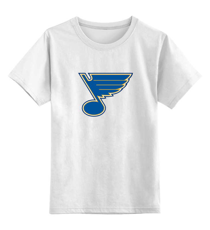 Детская футболка классическая унисекс Printio St. louis blues / nhl usa детская футболка классическая унисекс printio los angeles kings nhl usa