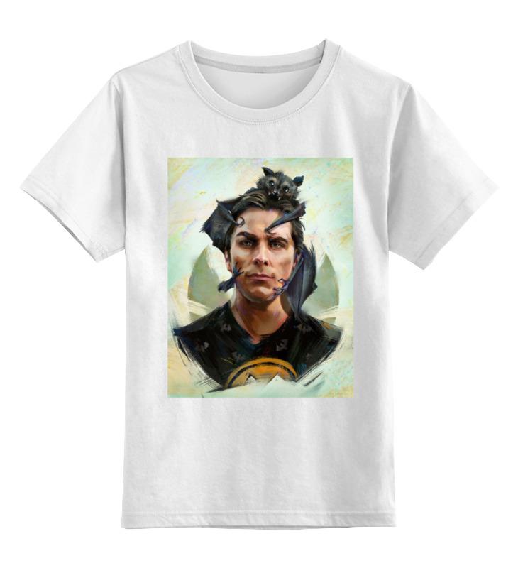 Детская футболка классическая унисекс Printio Кристиан бейл / christian bale christian louboutin сандалии