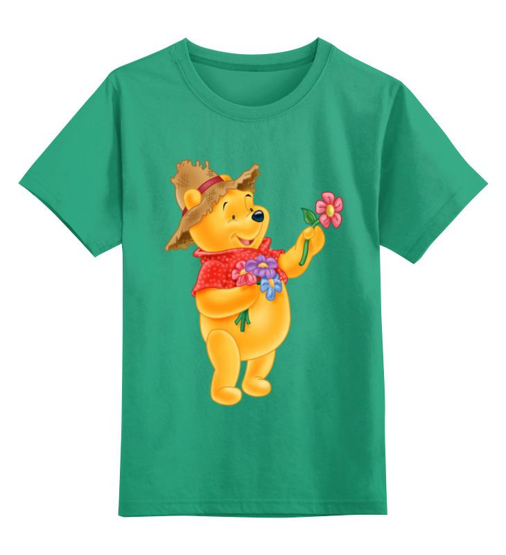Детская футболка классическая унисекс Printio Винни пух детская футболка классическая унисекс printio винни пух зимой
