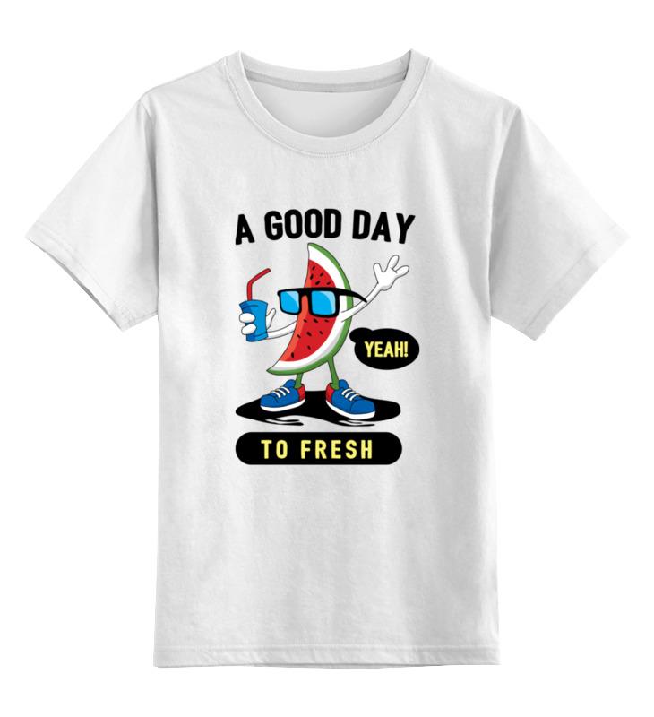 Printio Арбуз детская футболка классическая унисекс printio забавный арбуз