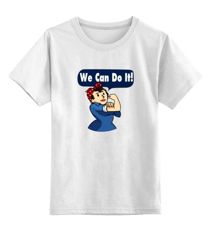 Детская футболка классическая унисекс Printio Клепальщица рози (фэллаут) футболка классическая printio fallout фэллаут