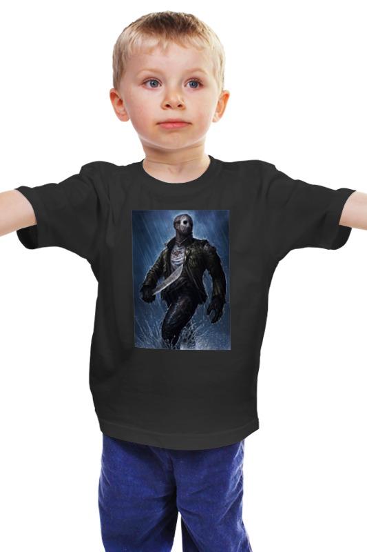 Детская футболка классическая унисекс Printio Джейсон вурхис джейсон прайс