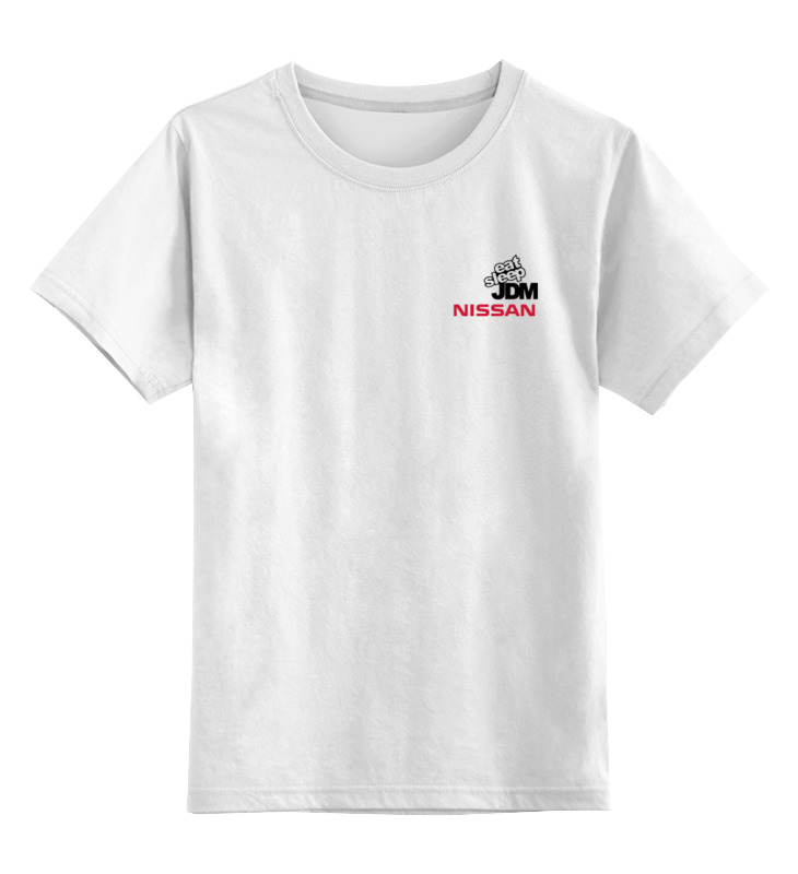 Детская футболка классическая унисекс Printio Nissan jdm футболка классическая printio авто уаз