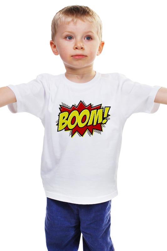 Детская футболка классическая унисекс Printio Boom! детская футболка классическая унисекс printio мачете