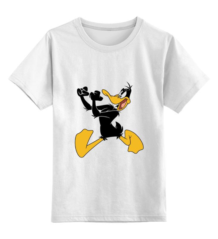 Детская футболка классическая унисекс Printio Даффи