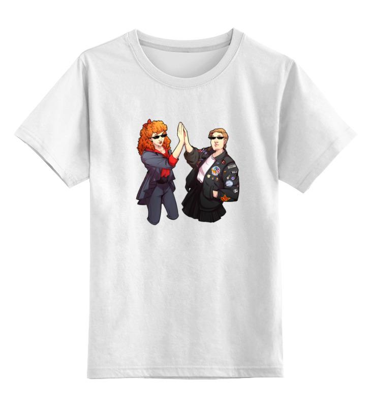 Детская футболка классическая унисекс Printio Мел и эйс dynacord dynacord d 8a