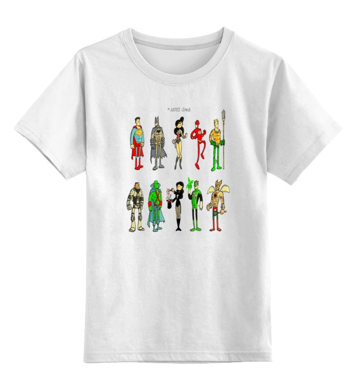 Детская футболка классическая унисекс Printio The justice league justice league of america the silver age vol 3