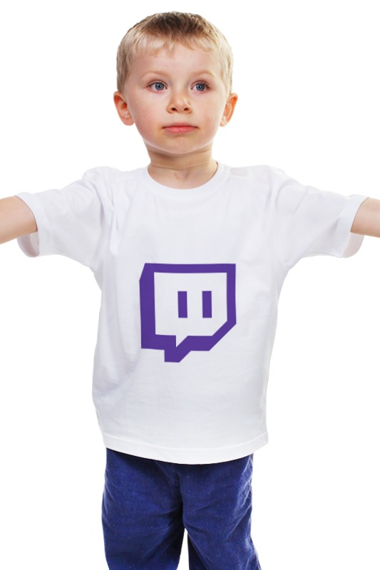 Детская футболка классическая унисекс Printio Twitch сайт где коляску инглезина форум
