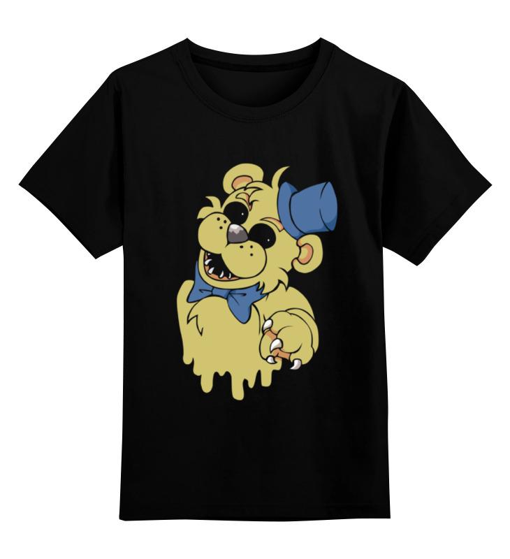 Детская футболка классическая унисекс Printio Golden freddy