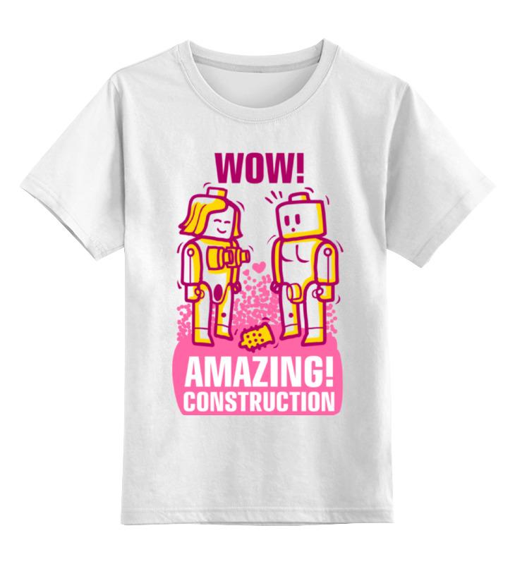 все цены на Детская футболка классическая унисекс Printio Lego amazing онлайн