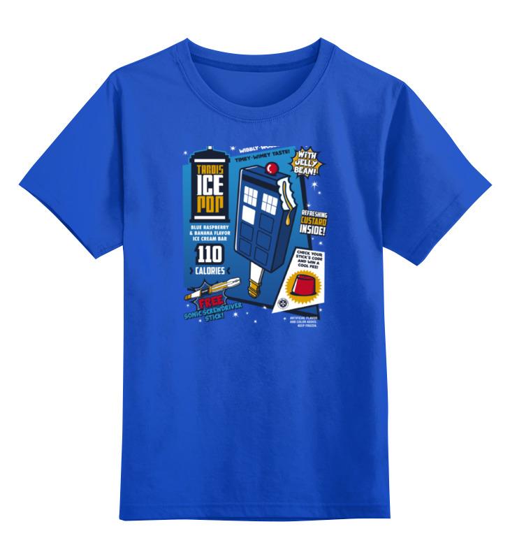 Детская футболка классическая унисекс Printio Тардис детская футболка классическая унисекс printio мачете