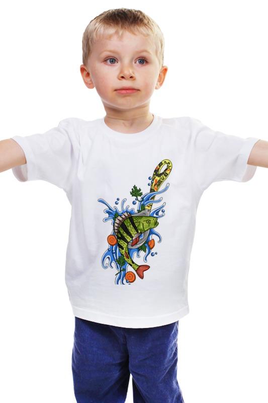 Детская футболка классическая унисекс Printio Окунь детская футболка классическая унисекс printio мачете