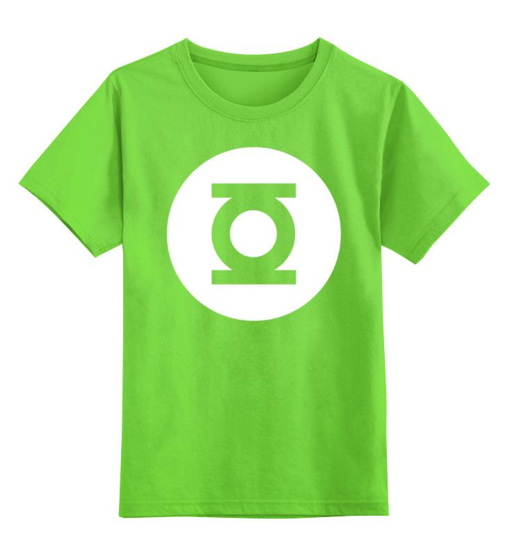 Детская футболка классическая унисекс Printio Зелёный фонарь налобный фонарь sunree l40 ipx8 4led