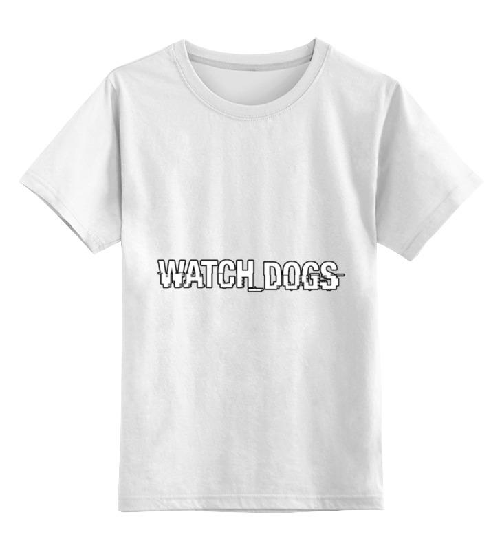 Детская футболка классическая унисекс Printio Watch_dogs by pj толстовка детская jnby by jnby 1f123304 15 jnbybyjnby