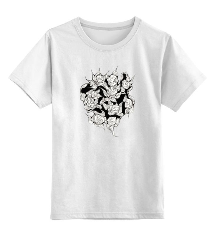 Детская футболка классическая унисекс Printio Абстрактные цветы детская футболка классическая унисекс printio мотобайк