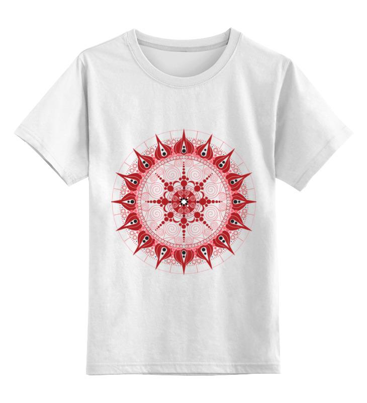 Детская футболка классическая унисекс Printio Мандала страсти футболка рингер printio мандала страсти