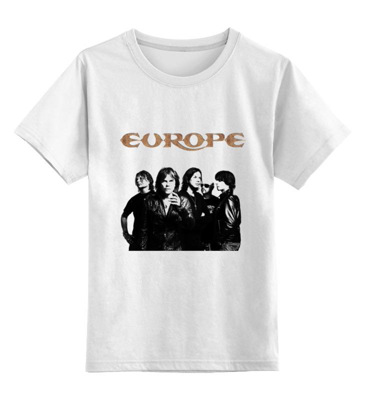 Детская футболка классическая унисекс Printio Europe