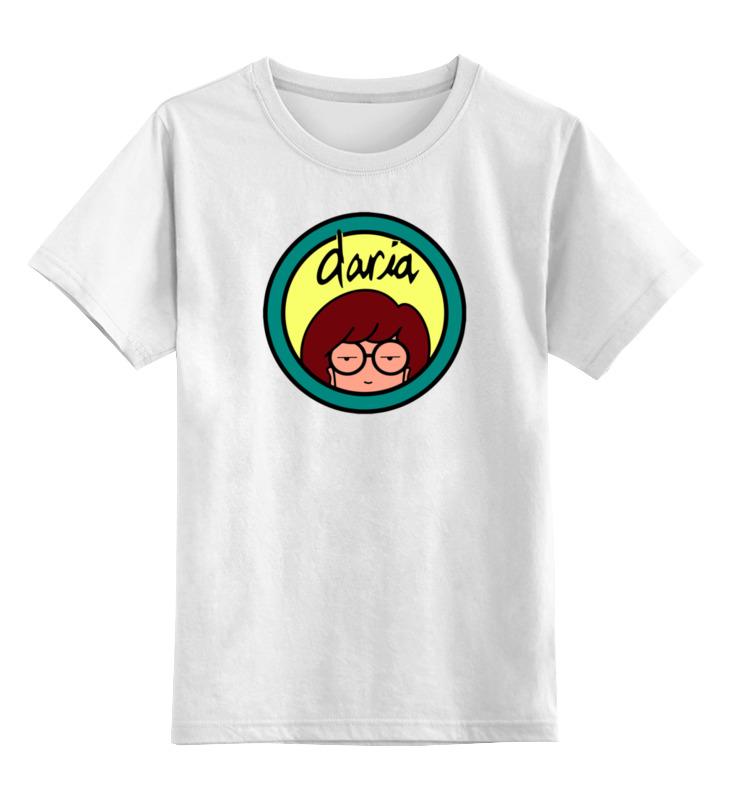 цена Детская футболка классическая унисекс Printio Дарья онлайн в 2017 году