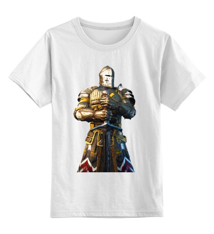 Детская футболка классическая унисекс Printio Рыцарь в доспехах лунный рыцарь и мертвые восстанут