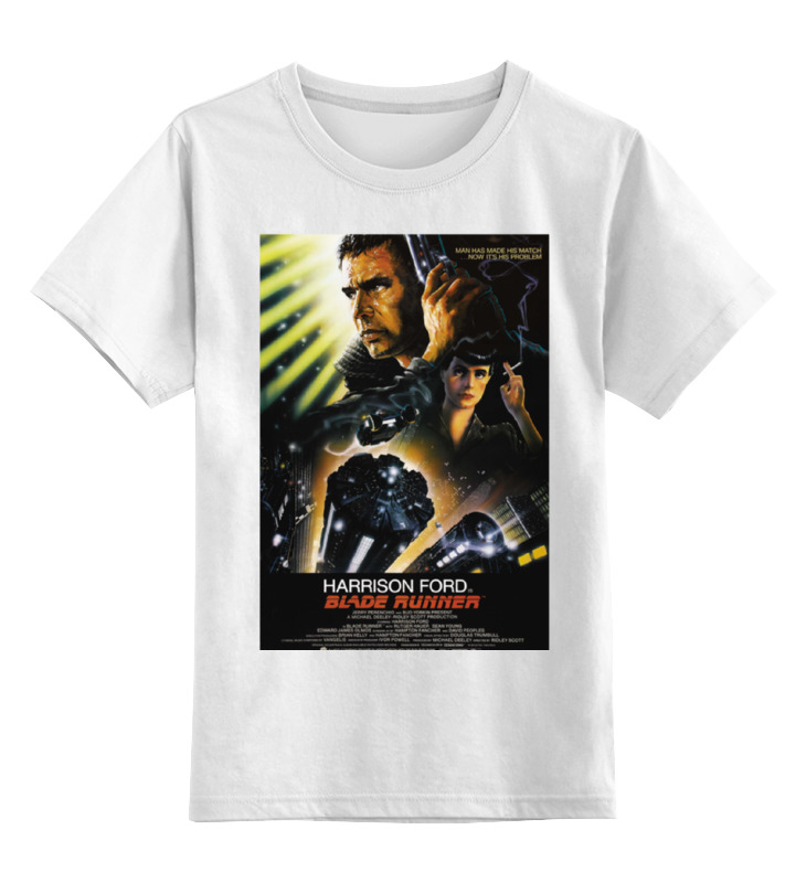 Детская футболка классическая унисекс Printio Бегущий по лезвию / blade runner бегущий по лезвию dvd