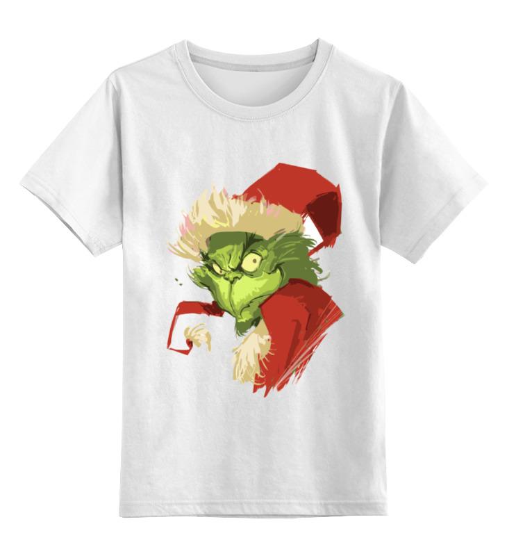 Детская футболка классическая унисекс Printio Гринч | grinch