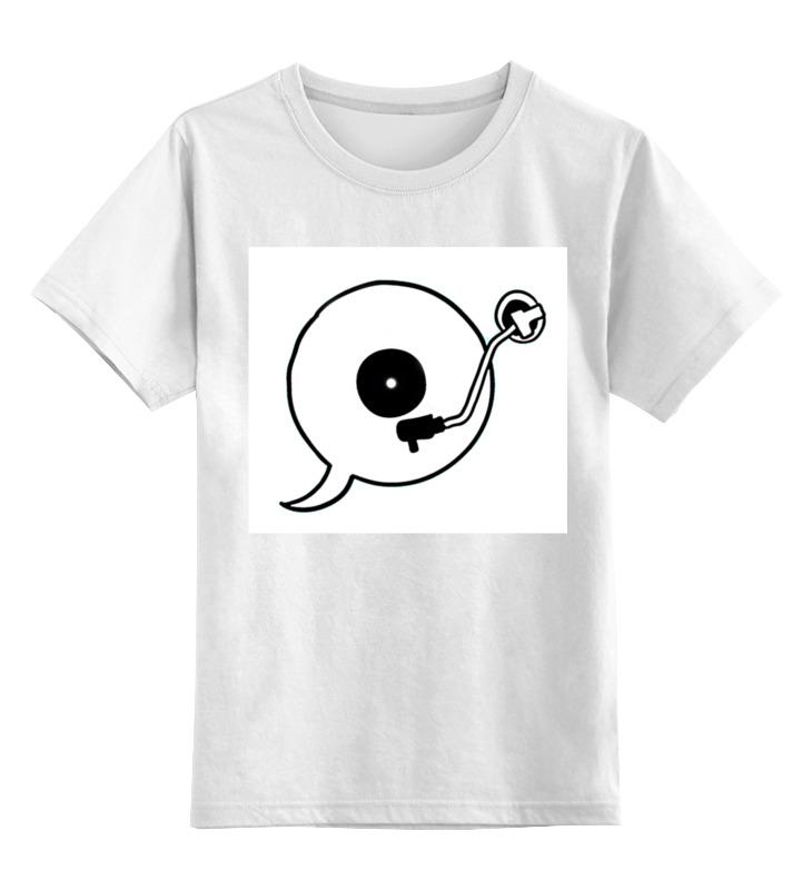 Детская футболка классическая унисекс Printio Let me speak from my heart my first playtime let s get busy