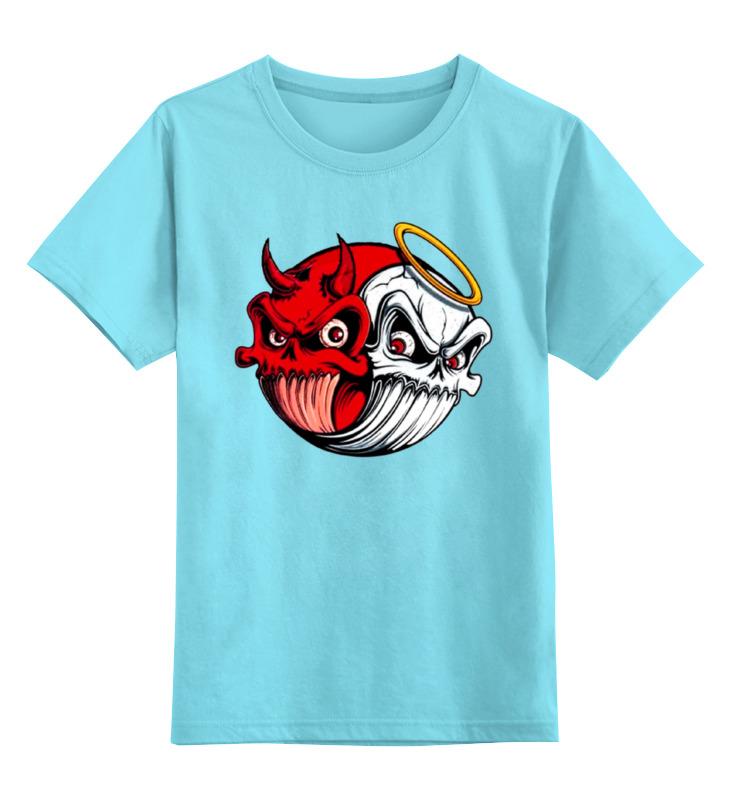 Детская футболка классическая унисекс Printio Angel & devil angel 300