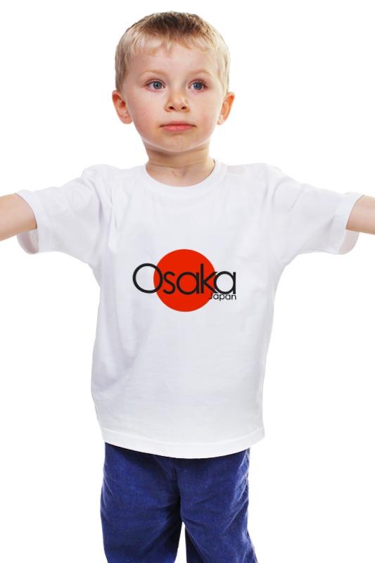 Детская футболка классическая унисекс Printio Osaka повязка йодо повидон в москве