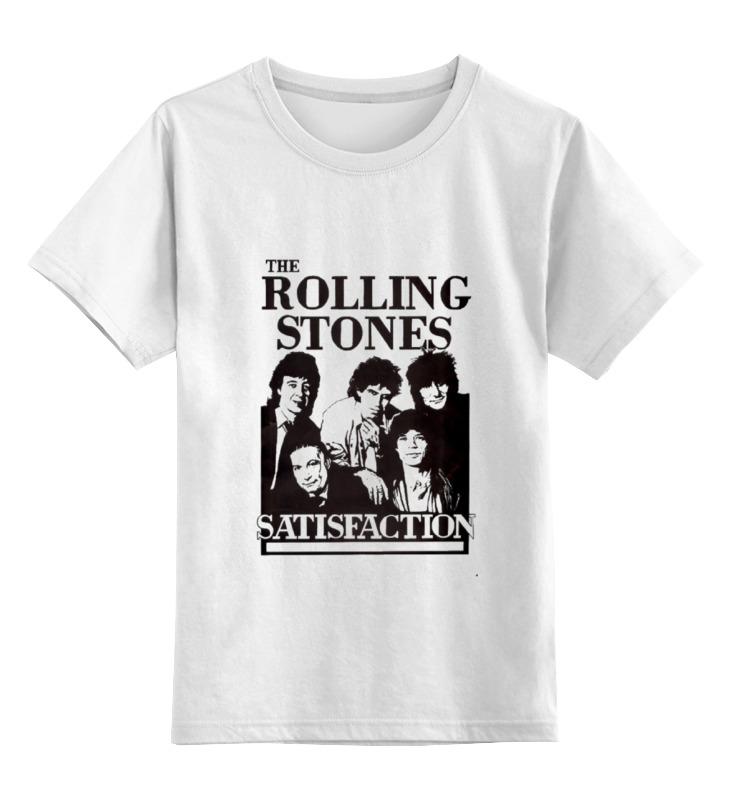 Детская футболка классическая унисекс Printio The rolling stones футболка классическая printio mick jagger the rolling stones