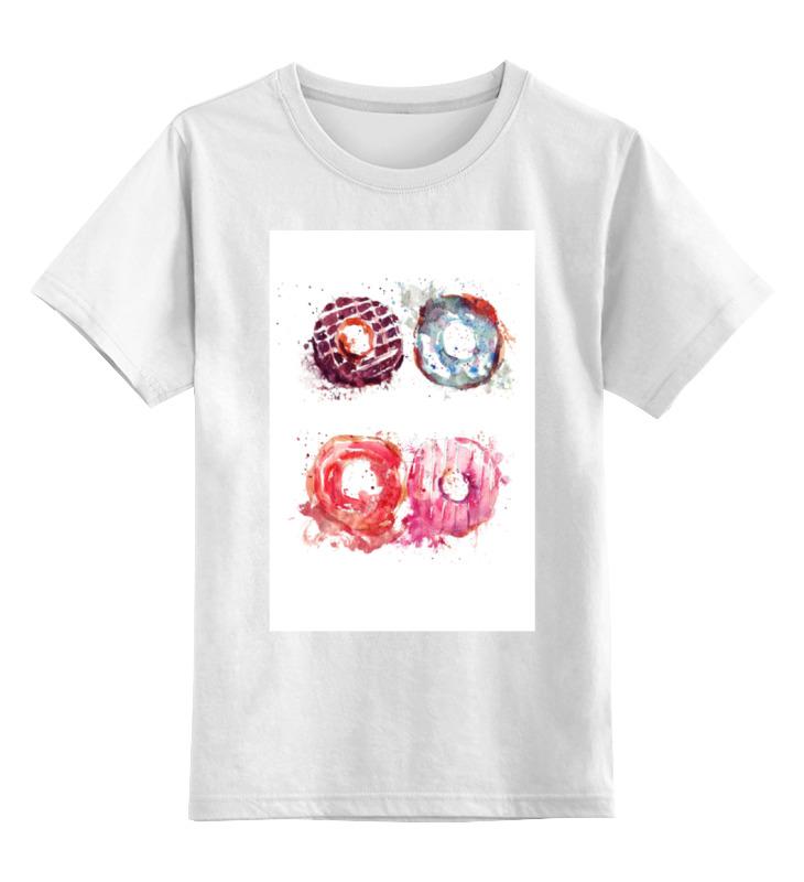 Детская футболка классическая унисекс Printio Пончики! donuts футболка классическая printio пончики donuts