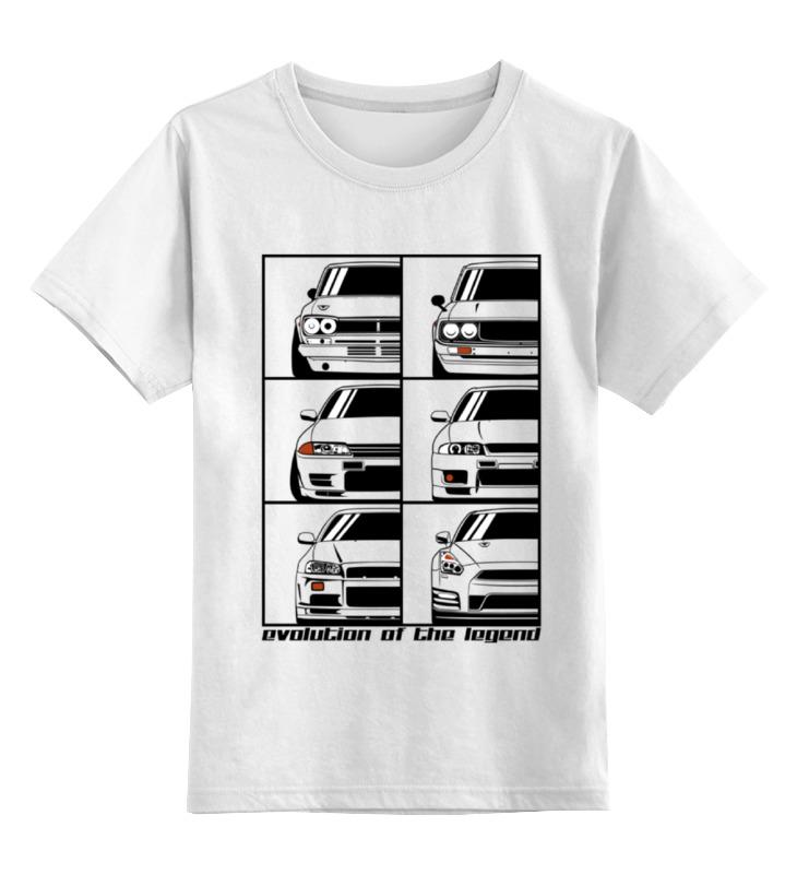 Детская футболка классическая унисекс Printio Skyline evolution детская футболка классическая унисекс printio nissan skyline r34