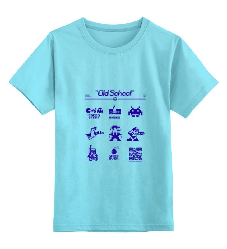 Детская футболка классическая унисекс Printio the old school 90: dendy classic dendy
